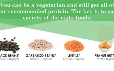 15 Foods For A Vegetarian Diet Infographic F