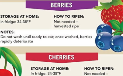 A Guide To Produce Ripening Infographic F