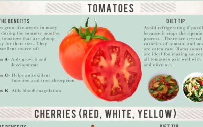 A Guide To Summer Food Infographic F