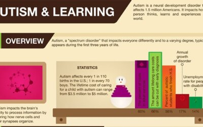Autism And Learning Infographic F