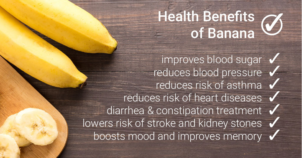 Bananas for asthma