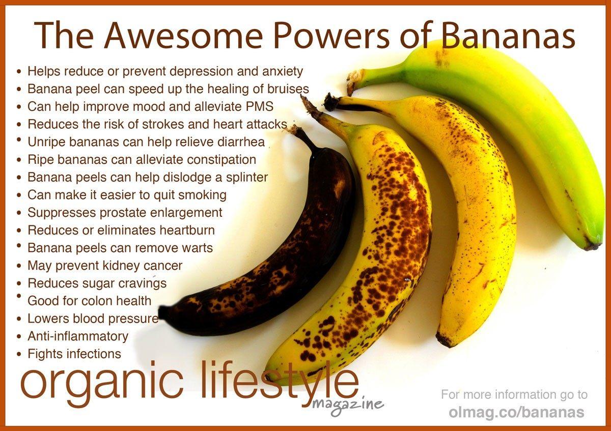 Bananas for diarrhea