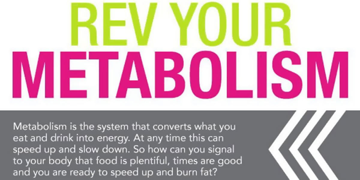 Boost Your Metabolism For Weight Loss Infographic F