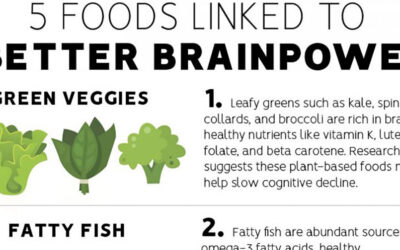 Brain Foods Infographic F