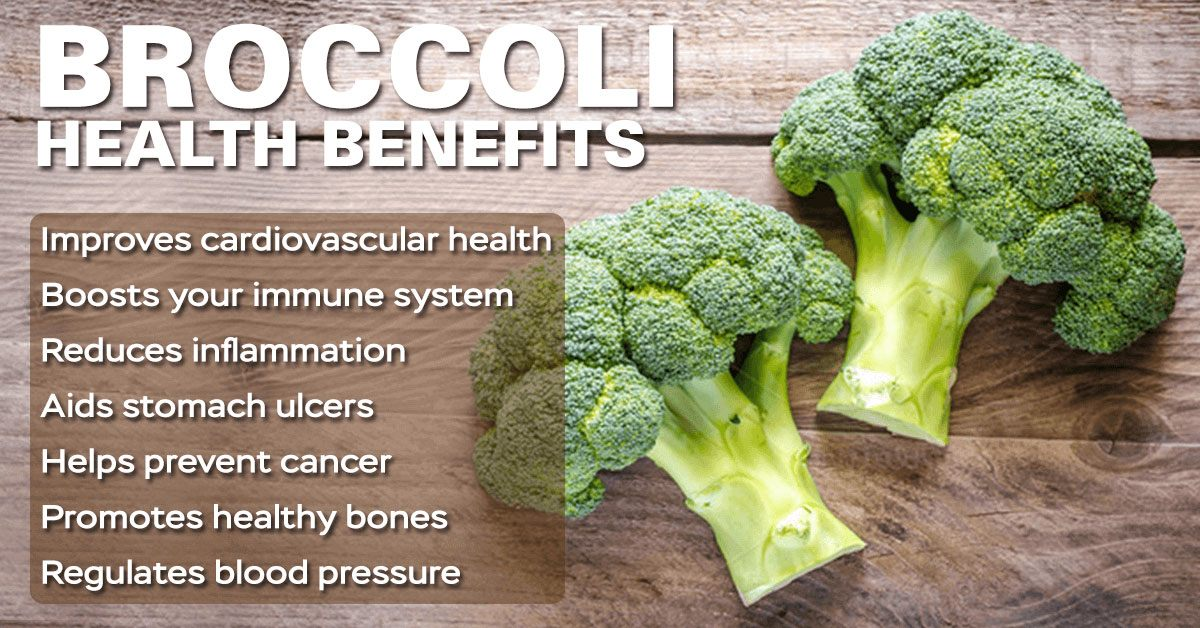 Broccoli for ulcers