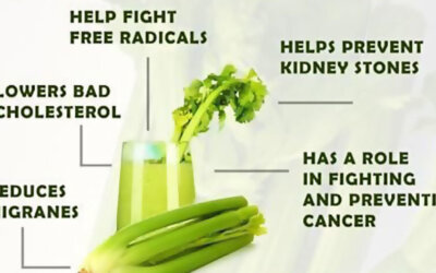 Celery Juice Benefits Infographic F