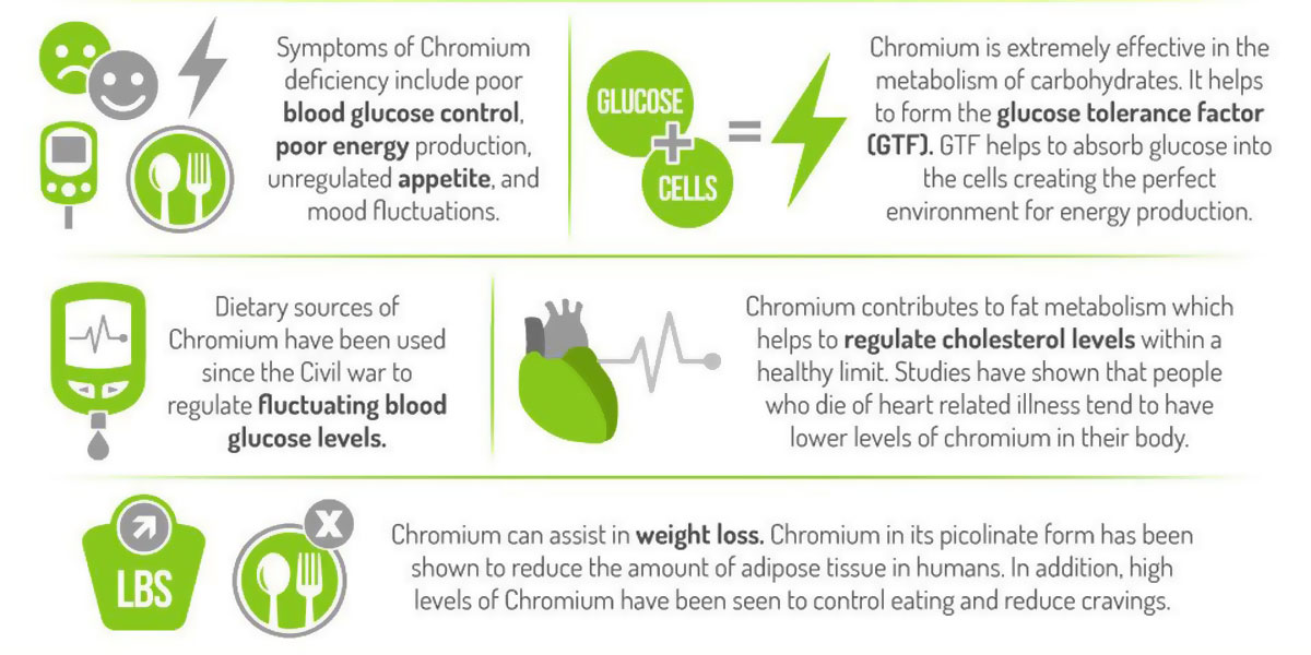 Chromium Supplement For Weight Loss | ShapeAble