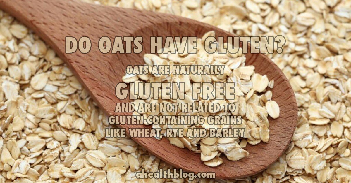 Do oats have gluten