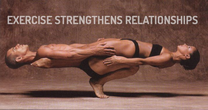 Exercise strengthens relationships