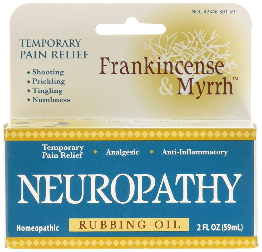Frankincense & Myrrh Neuropathy Rubbing Oil