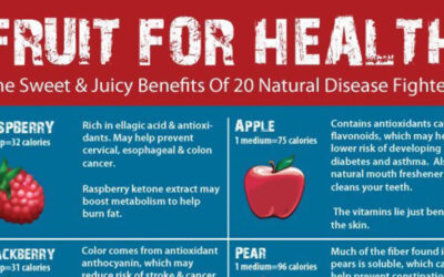 Fruit For Health Infographic F