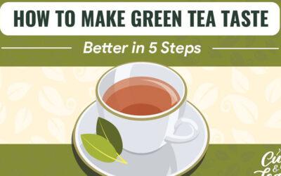 Green Tea Infographic F