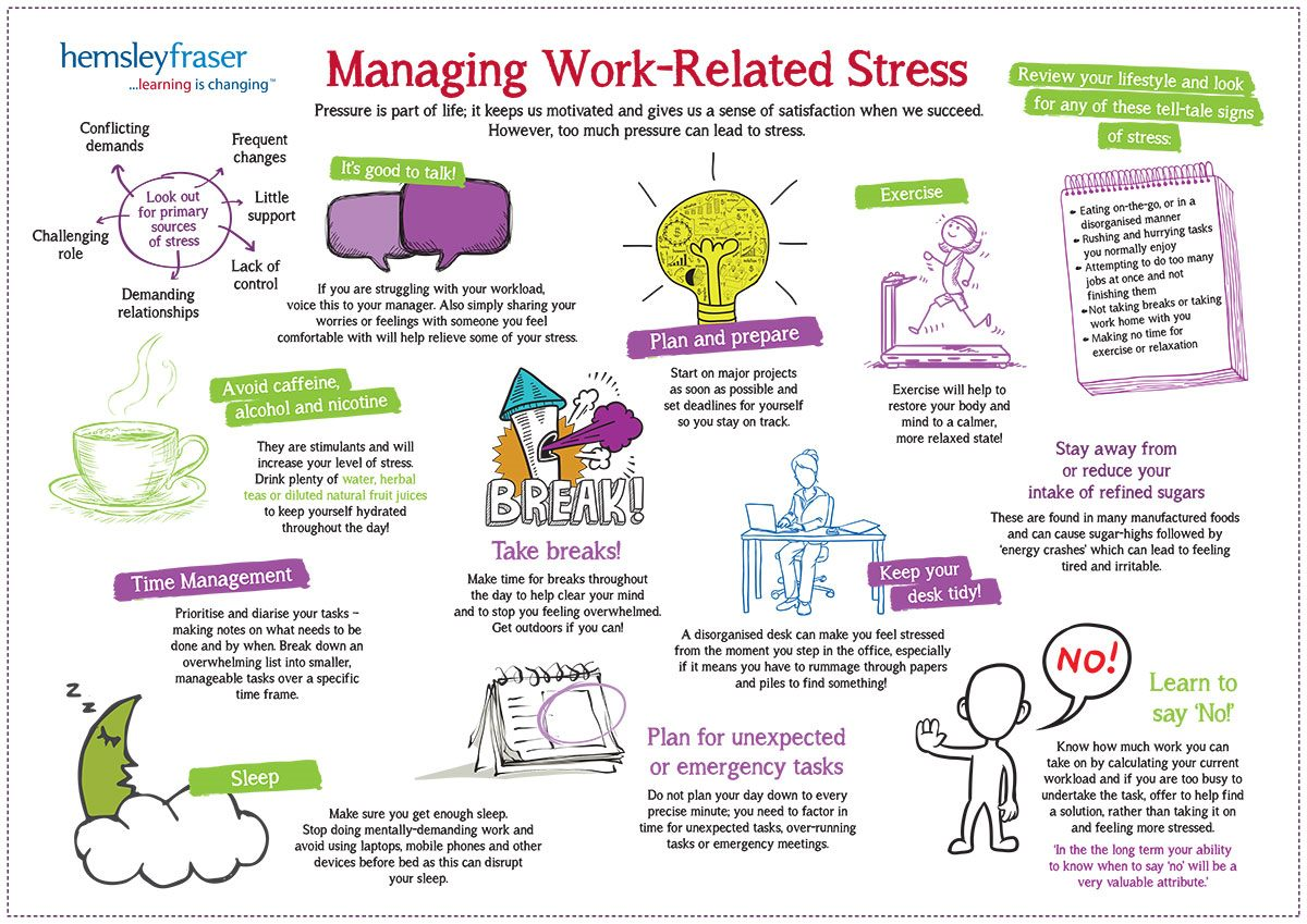 Happy People Know How To Manage Their Stress