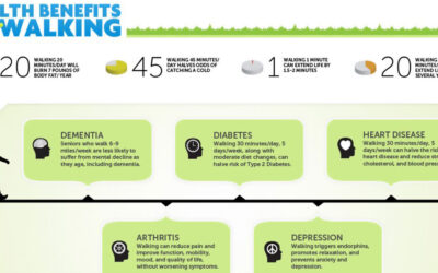Health Benefits Of Walking Infographic F