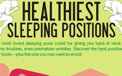Healthiest Sleeping Positions Infographic F