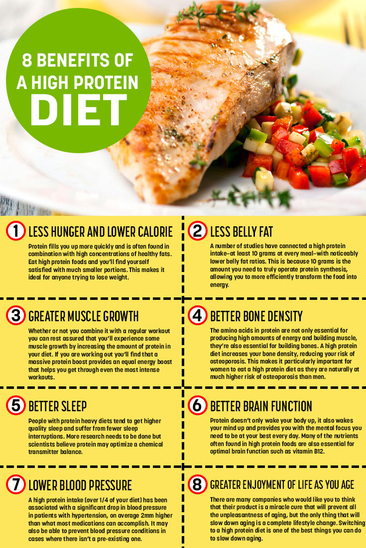 High Protein Reduced Calorie Diet