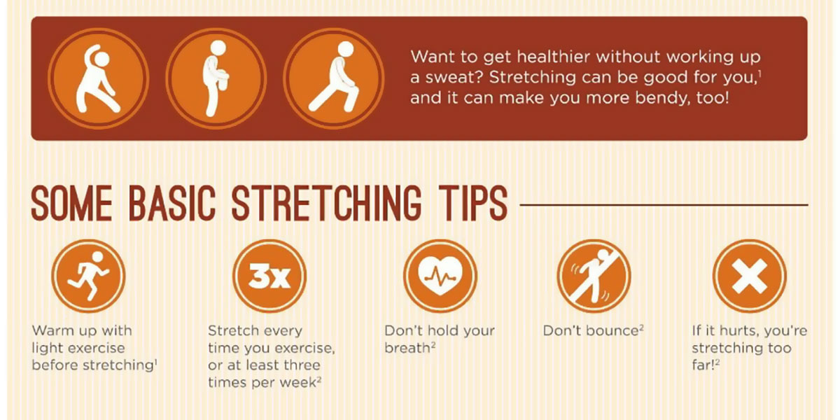 How To Become More Flexible Infographic F