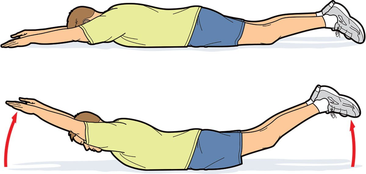 How to do superman exercise