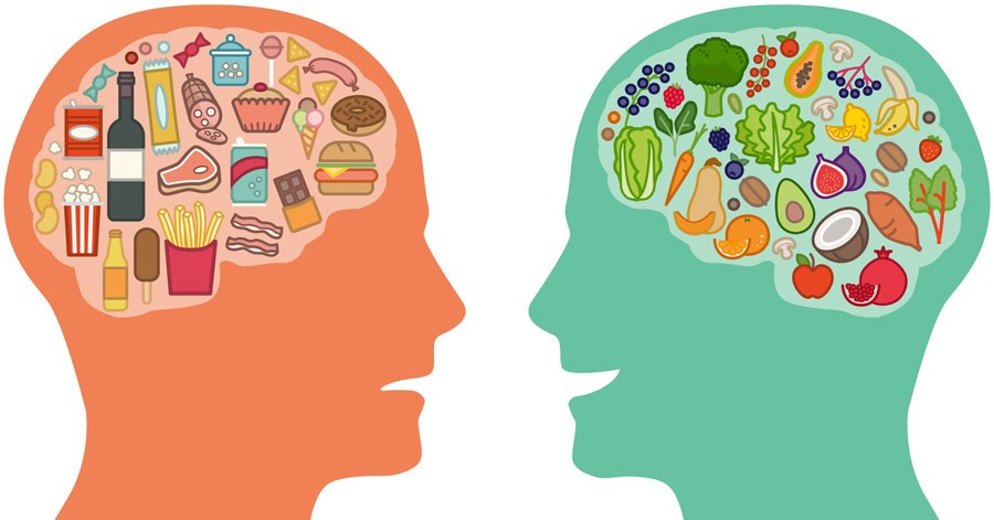 Make healthier dietary choices to help improve your mental health