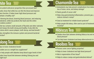 Science Based Evidence of Health Benefits of Herbal Teas