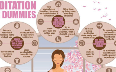 Meditation For Dummies Infographic F