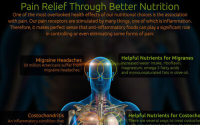 Pain Relief Through Better Nutrition Infographic F