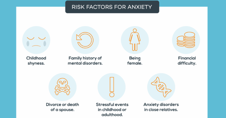 Stiffness is a common symptom of anxiety
