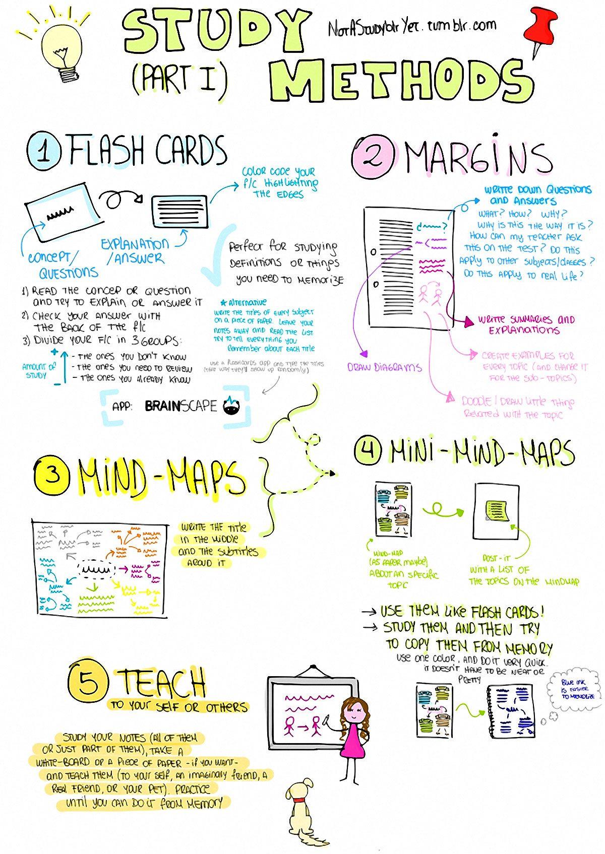 Study Methods Infographic