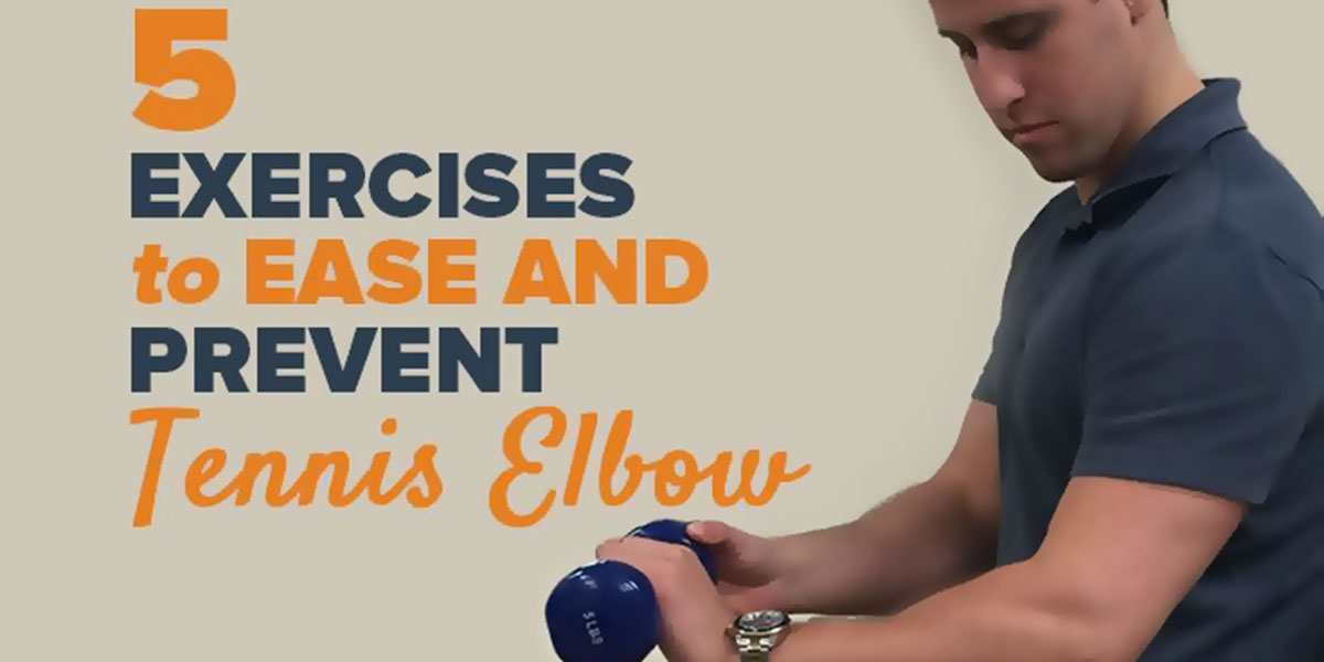 Tennis Elbow Exercises F
