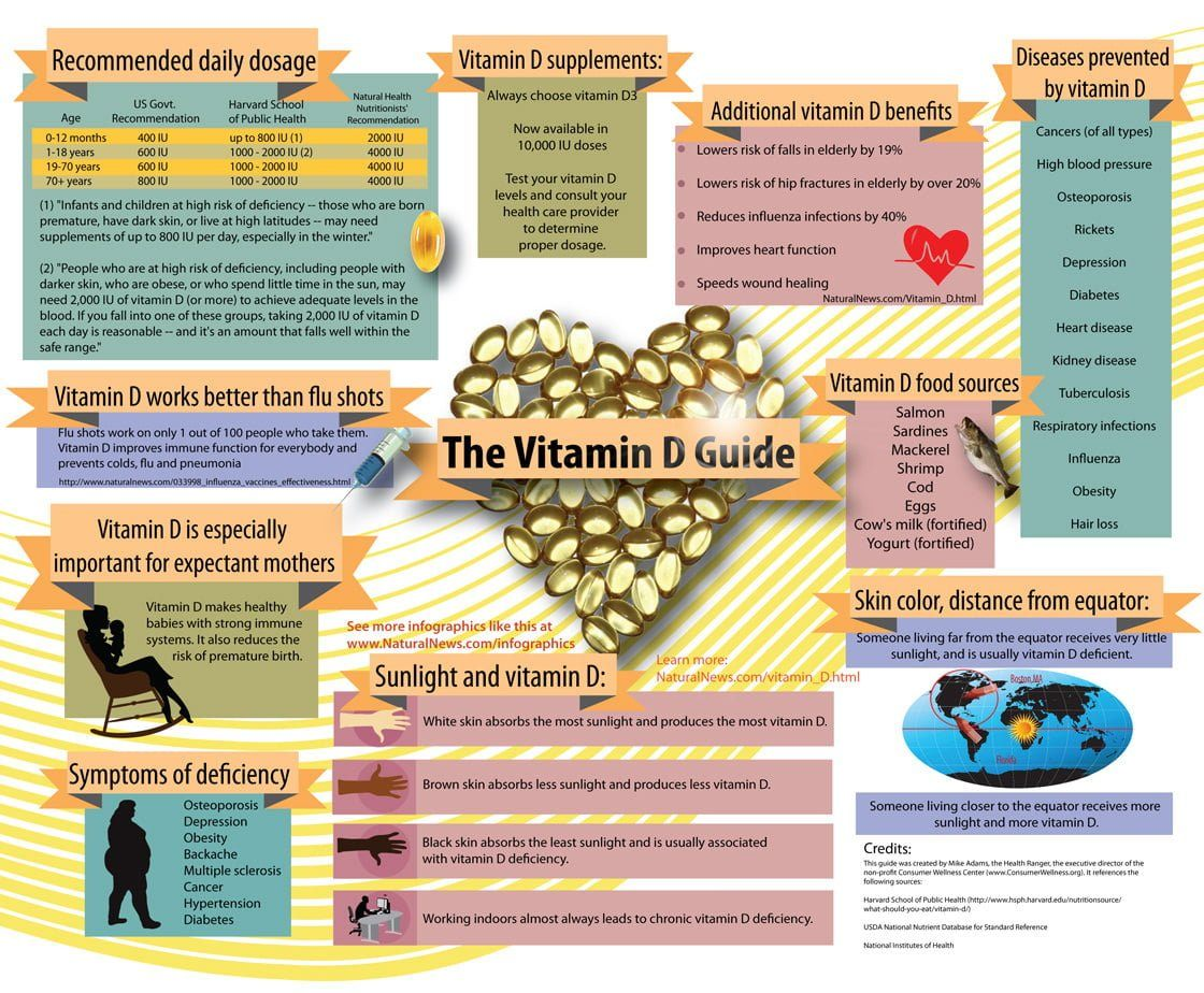 The Vitamin D Guide Infographic