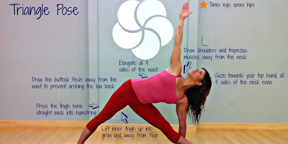 (TRIKONASANA) Triangle Pose Benefits