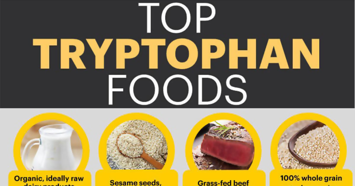 Tryptophan Infographic F