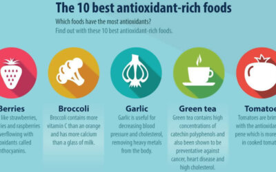 What Are Antioxidants Infographic F