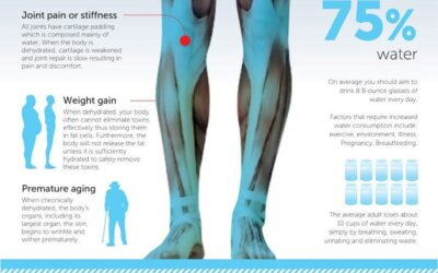 Why Dehydration Is Making You Fat And Sick Infographic