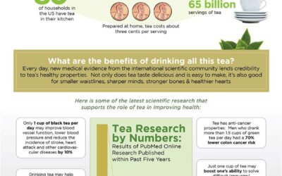 Why Drink Tea Every Day Infographic