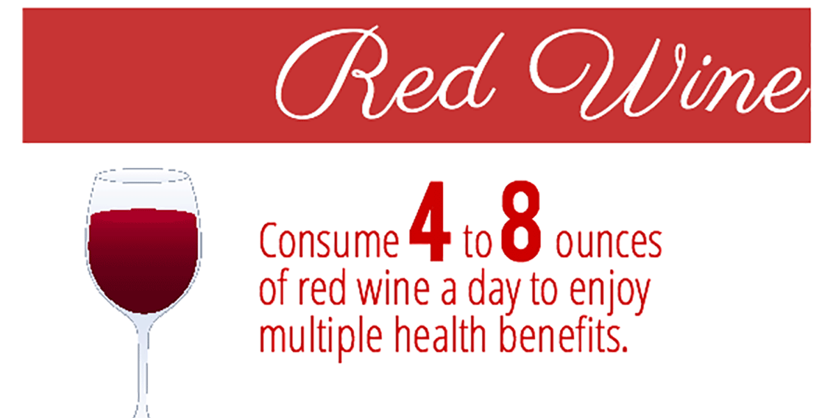 Benefits Of Red Wine Inforgraphic F