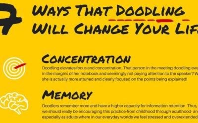 doodling benefits