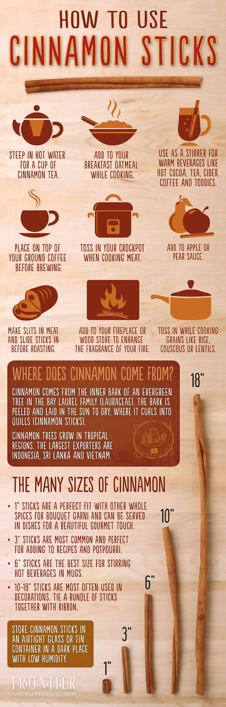 How To Use Cinnamon Sticks