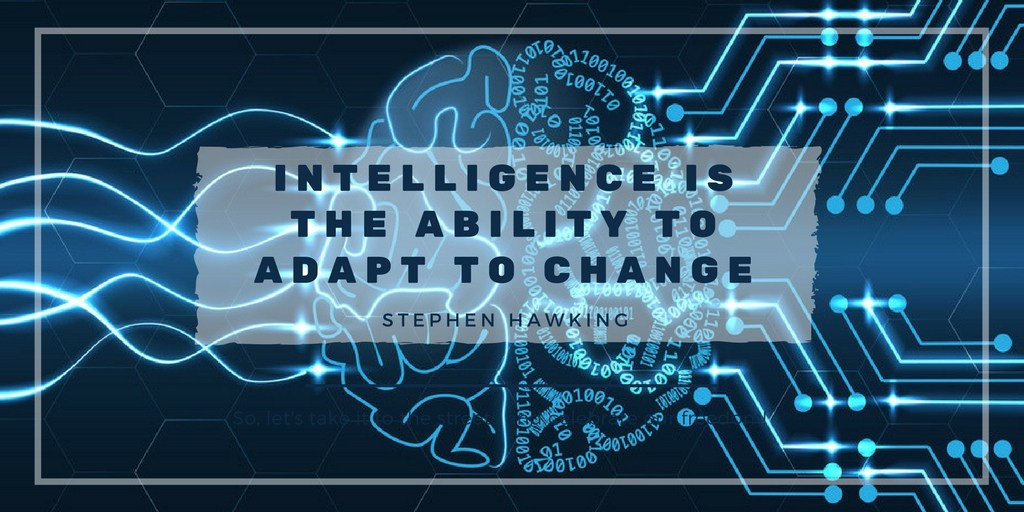 Change the way you do things to help improve your intelligence