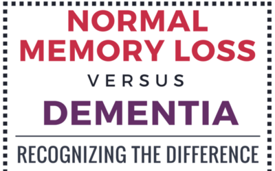 Normal Memoery Loss Vs Dementia F