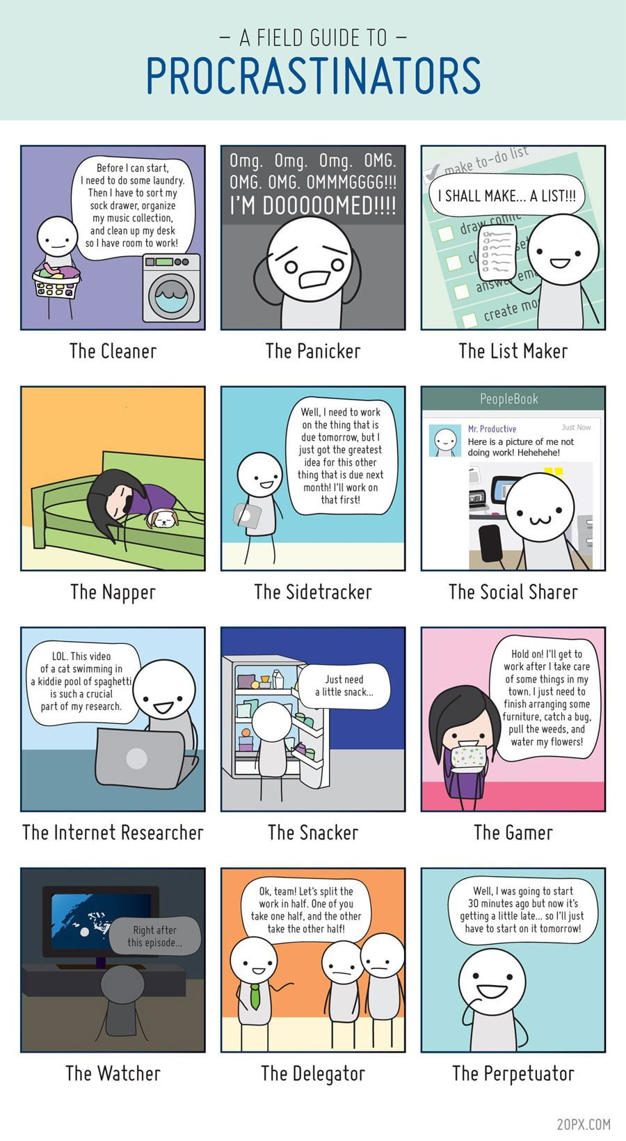 procrastination-infographic