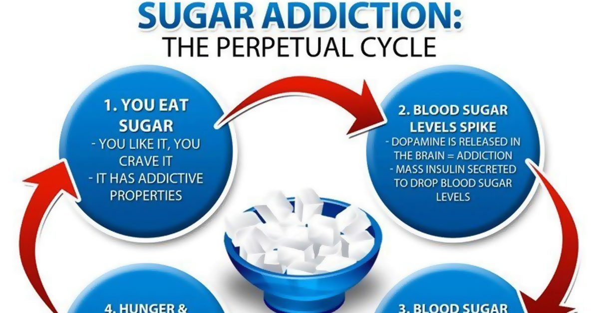 Sugar Addiction Cycle F